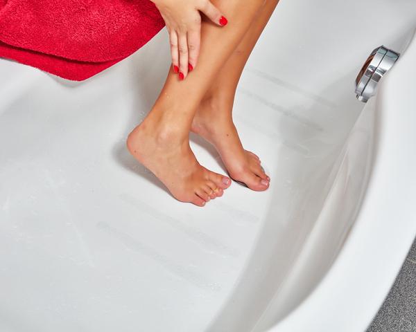 6 anti rutsch streifen transparent selbstklebend dusche. Black Bedroom Furniture Sets. Home Design Ideas